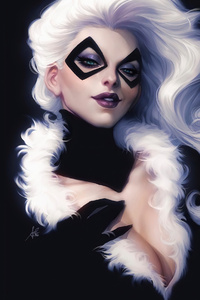480x800 Marvel Girl Black Cat Felicia Hardy 4k