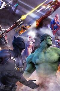 Marvel Heroes 2016 Art