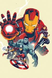 Marvel Heroes 4k Arts