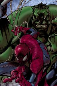 640x1136 Marvel Heroes 4k