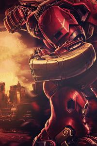 1280x2120 Marvel Iron Hulkbuster