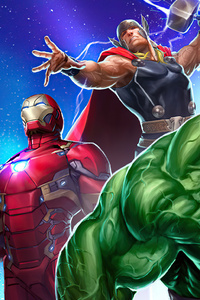 Marvel Puzzle Quest 2020 4k