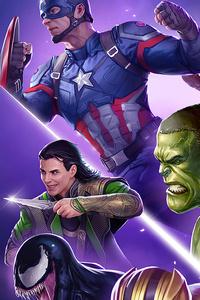 1280x2120 Marvel Puzzle Quest 2020