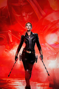 750x1334 Marvel Studio Black Widow 5k