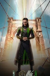 480x854 Marvel Studios Loki 4k