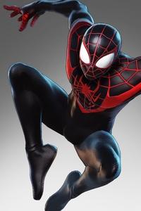 800x1280 Marvel Ultimate Alliance 3 2019 Miles Morales