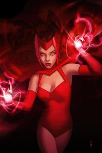 720x1280 Marvel Women Scarlet Witch 4k