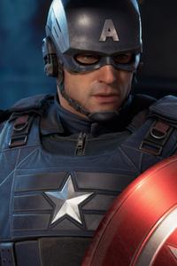320x480 Marvels Avenger Captain America 4k