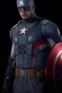 1080x2160 Marvels Avenger Captain America 5k