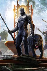 Marvels Avenger Wakanda 4k