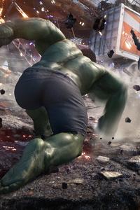 1080x2160 Marvels Avengers 2020 4k