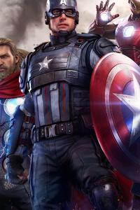 640x1136 Marvels Avengers 4k