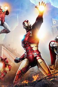 2160x3840 Marvels Avengers 5k