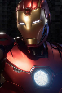 1440x2560 Marvels Avengers Iron Man 4k