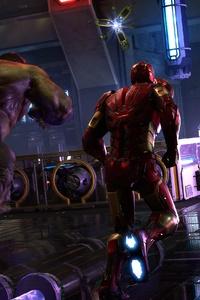 Marvels Avengers Iron Man Hulk Kamala Khan