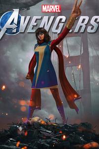 640x960 Marvels Avengers Kamala Khan 2020