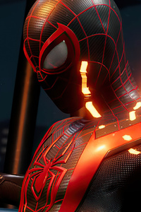 2160x3840 Marvels Spider Man Miles Morales 2020 Ps5