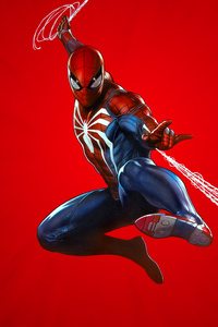 480x800 Marvels Spider Man PS4 Theme Art 10k