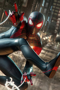 640x960 Marvels Spiderman Miles Morales 4k 2020