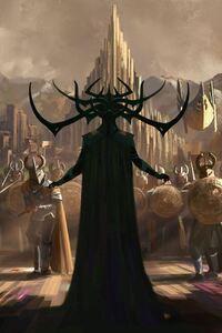 720x1280 Marvels Thor Ragnarok Concept Art