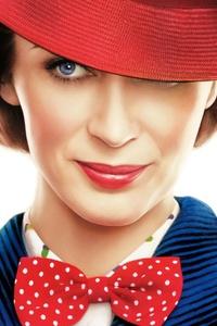 320x480 Mary Poppins Returns 12k Movie