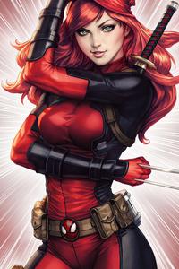 1280x2120 Maryjaneparker As Deadpool