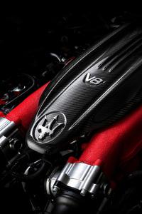 1080x2280 Maserati Levante Engine 2018
