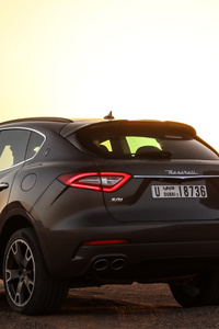 240x400 Maserati Levante S Q4 GranSport Rear