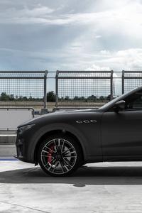 1080x2280 Maserati Levante Trofeo 2018 Side View