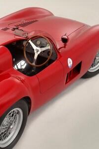 Maserati Vintage Old Red