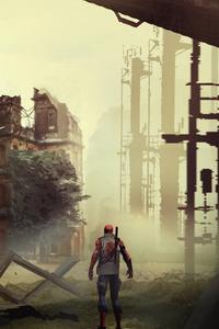 Mash Up City Spiderman 4k