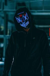 2160x3840 Mask Anonymous Hood 5k