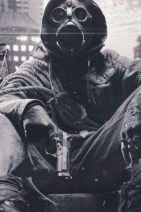 Mask Apocalypse 4k