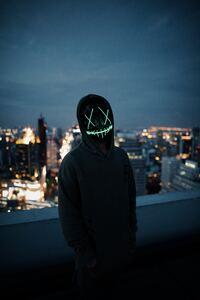 320x480 Mask Guy Neon 5k