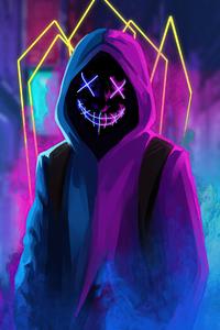 Mask Neon Guy