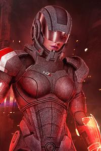 Mass Effect 3 Shepard Femshep