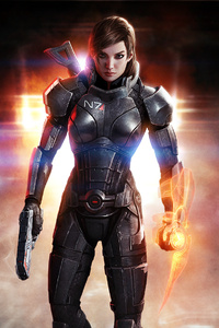 Mass Effect 3 Shepard Femshep HD