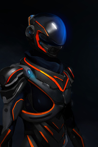 320x568 Mass Effect Andromeda 3d Art