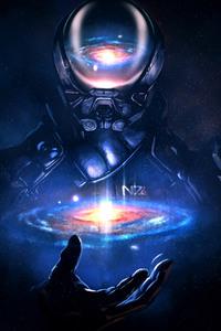 Mass Effect Andromeda Artwork