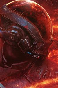 Mass Effect Andromeda RYDER N7 4k