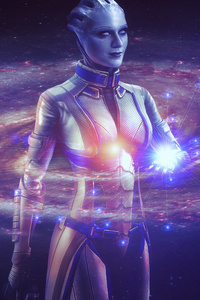 320x568 Mass Effect Liara 8k
