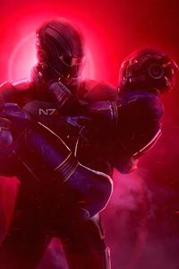 Mass Effect N7 Artwork 4k