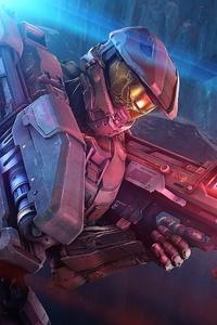 Master Chief Halo 4k