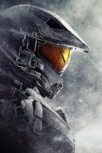 1080x1920 Master Chief Halo 5 Guardians