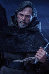 480x854 Master Luke Skywalker 5k