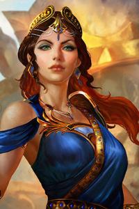 1080x1920 Mastery Skins As Hera Smite 4k