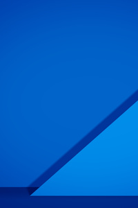 1440x2960 Material Blue Abstract