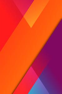 1440x2560 Material Colors 8k