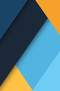 1440x2960 Material Design Colors 8k