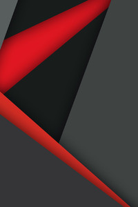 1440x2960 Material Design Dark Red Black